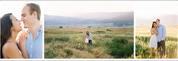 Style Me Pretty - Sunrise Engagement Session