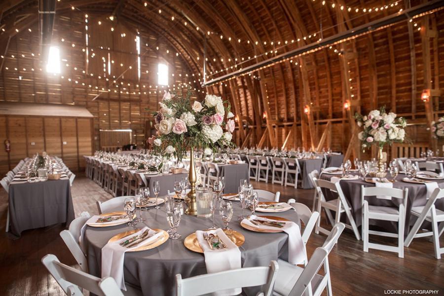 Gorgeous Wedding Decorations Barn Wedding Elegance Big Yellow Barn