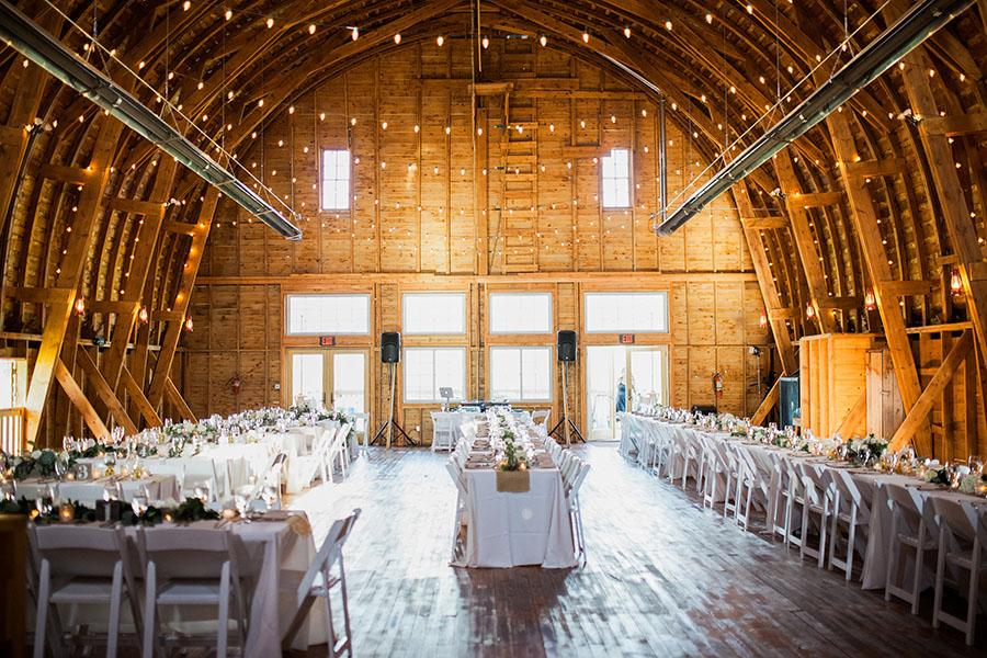 Rebecca Hollis Photography Bozeman Barn Wedding Reception Big